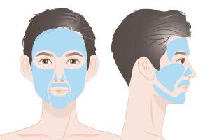 【メンズ脱毛】顔脱毛オーダーメイド