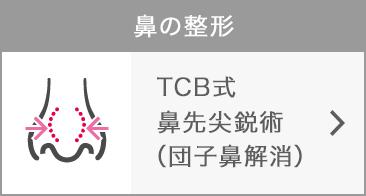 .TCB式鼻先尖鋭術(団子鼻解消)