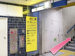 東京中央美容外科横浜院 横浜市営地下鉄ブルーライン・みなとみらい線ルート1