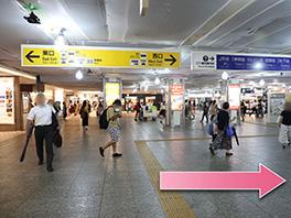 東京中央美容外科横浜院 京急線ルート1