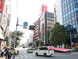 東京中央美容外科横浜院 京急線ルート7