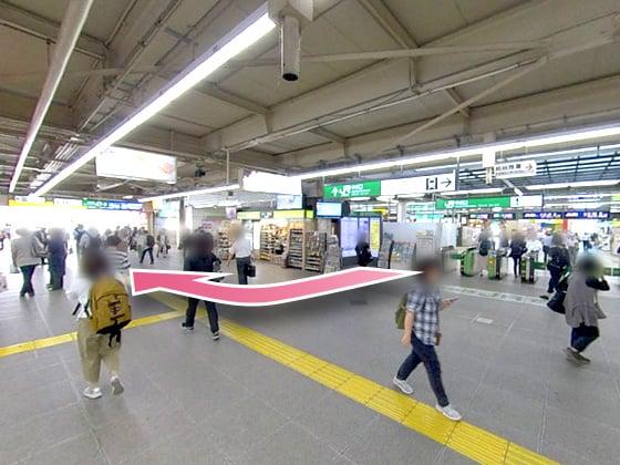 東京中央美容外科柏院JRルート01